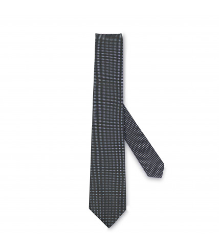 Pure cotton knit tie