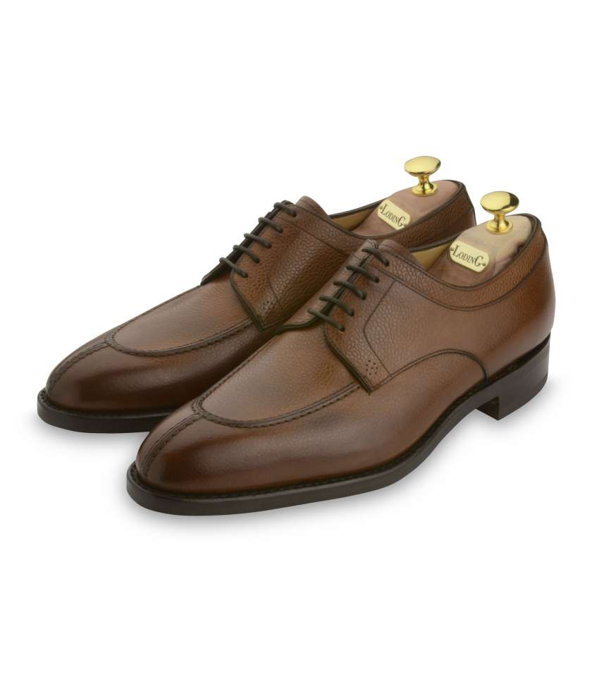 Derby Goodyear Denley 411 cuir marron grainé