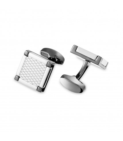 Square grid cufflinks
