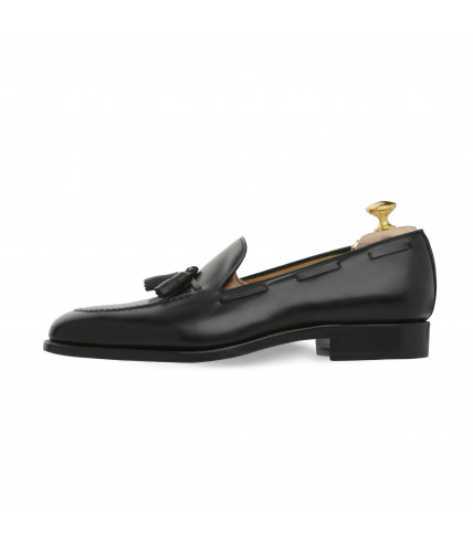 Mocassin noir à gland Windsor 463