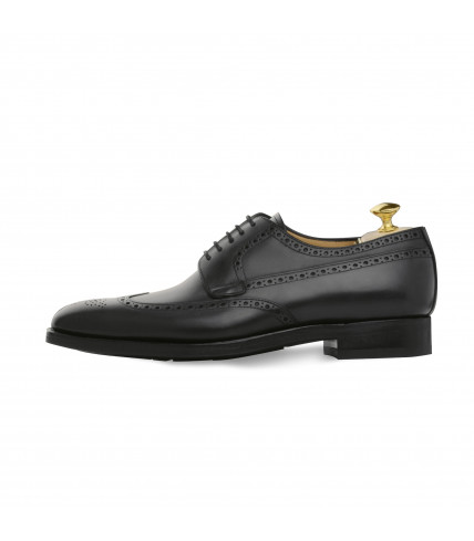 Derby Goodyear Cottage 474 cuir polido noir