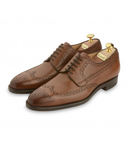 Derby Brogue bout golf Cottage 474 grainé