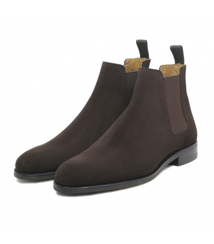 Bottines Chelsea 373 veau velours