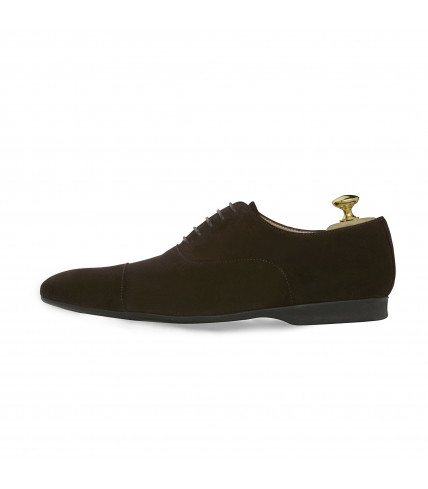Drive brown calf velvet box