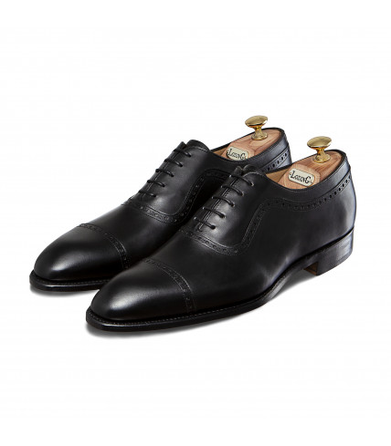 Box Calf Oxford Shoes with straight toe-cap 507 Birgmingham