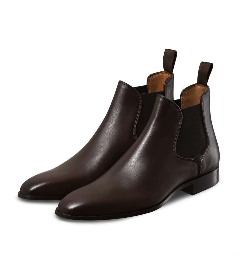 Brown Chelsea Boots Guiliano 1007