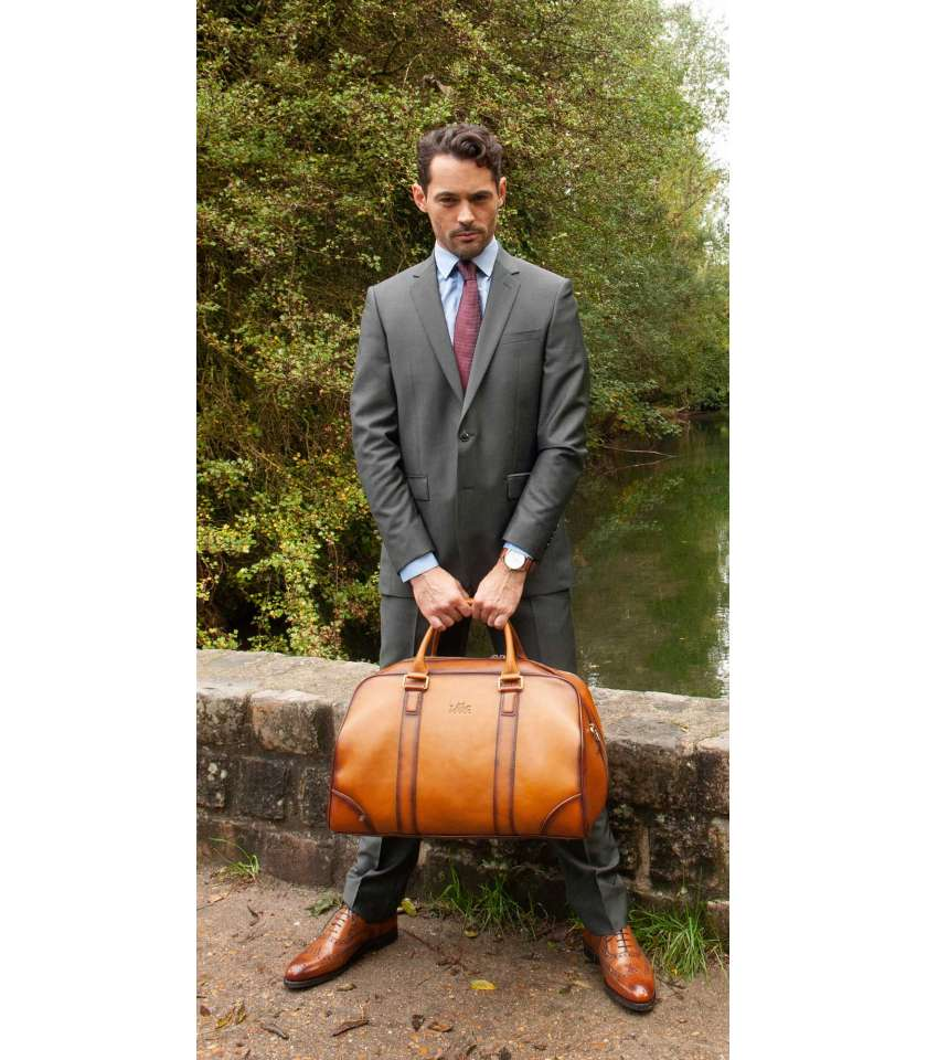 Calf Leather Holdall