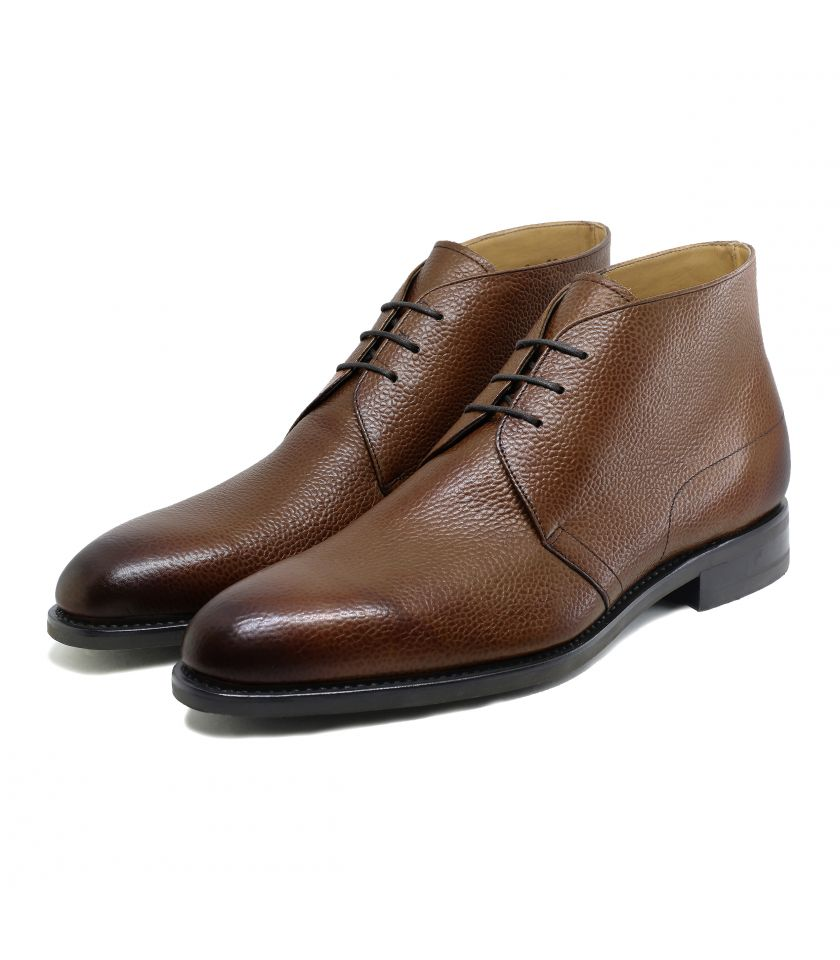 Bottines Chukka Rodney 368 cuir grainé