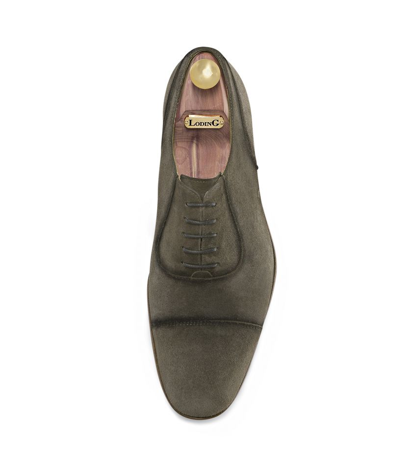 Suede Oxford Shoes with straight toe-cap 1011 Ajaccio