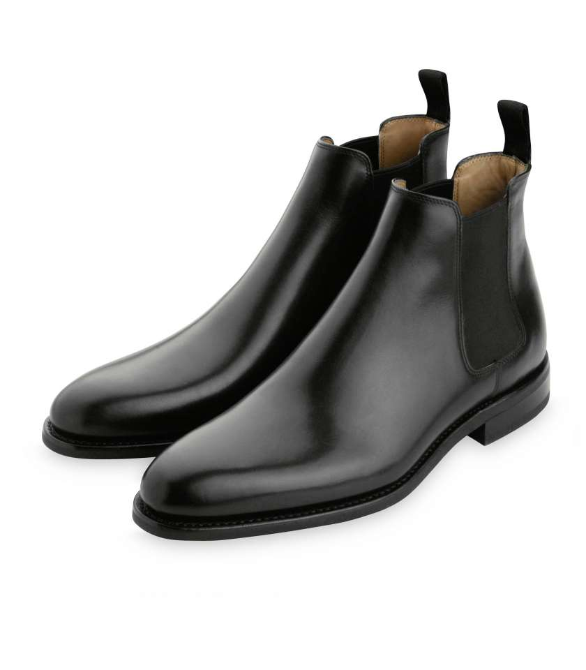 83c5fa1b6be8 Chelsea boots in gold leather