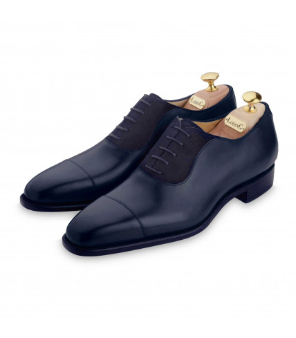 Heraclee 471 smooth leather and suede