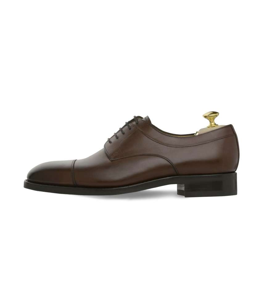 Derbys Goodyear Douets 436 brown leather