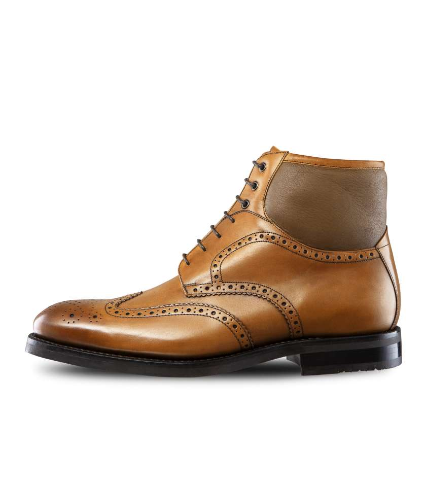 Bottines Brogue fourrées Gold Taimyr 322