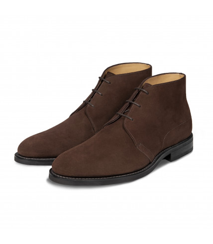 Bottines Chukka Rodney 368 veau velours