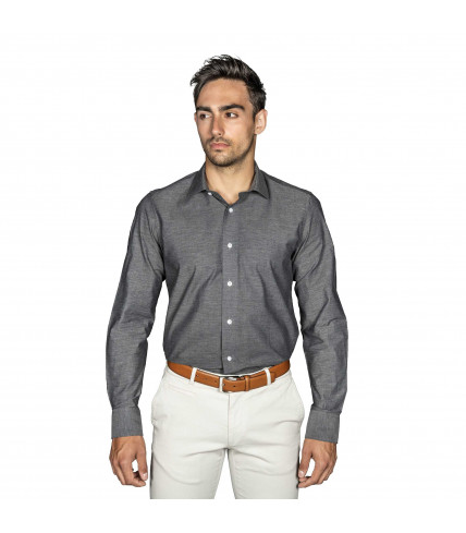 Fantasy Slim fit shirt Diamond pattern 100% cotton