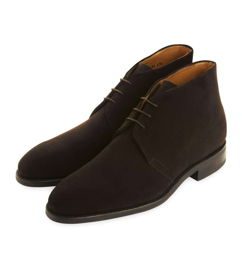 9b7dd5b7c8a8 Brown suede Chukka boots Goodyear welted. LodinG s quality and price.