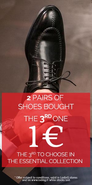The 3rd pair of shoes for 1€
