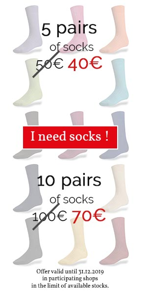 Special socks offer !
