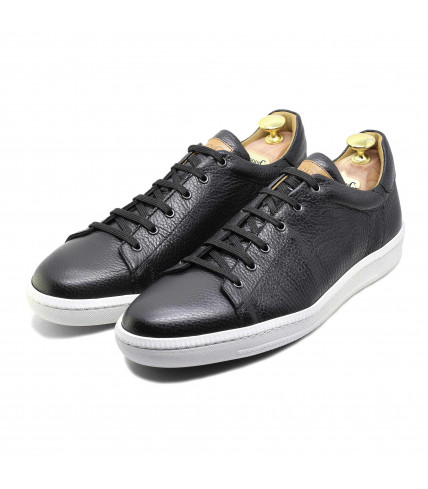 High range men shoes. Leather sneakers for smart men. - LodinG 921f1c8dbc97